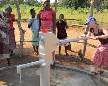 Wasserprojekt in Mosambik