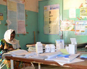 Gesundsheitszentrum im Niger