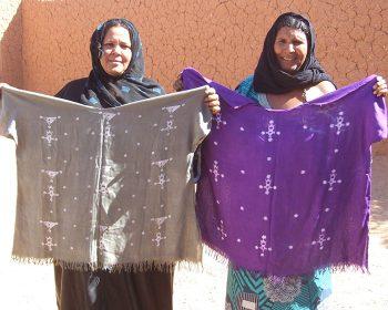 Frauen der Kooperative Tedhilt im Niger