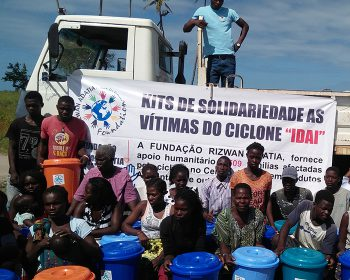 Hilfe für Flutopfer in Mosambik
