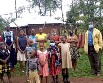 Mädchen in Kuria, Kenia